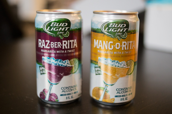 Bud Light Launches New Raz Ber Rita And Mang O Rita Flavors