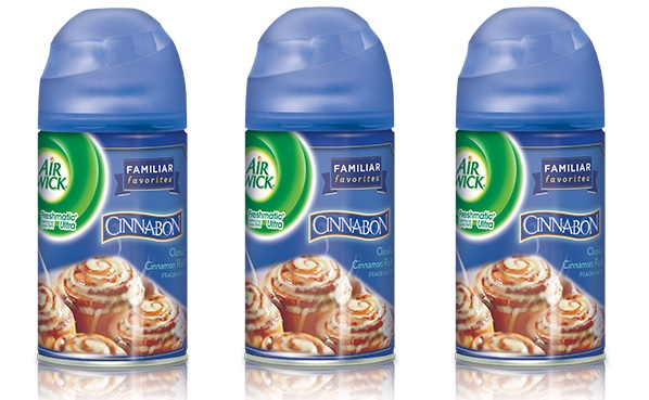 Cinnabon-Scented Air Freshener is Unfortunately Not Edible