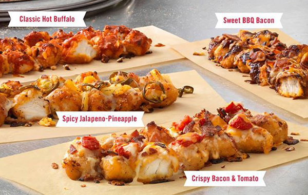 Domino's Swaps Pizza Dough with New Breaded Chicken Crust
