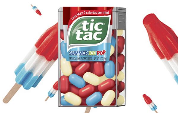 New Summertime Tic Tacs Taste Like Rocket Popsicles