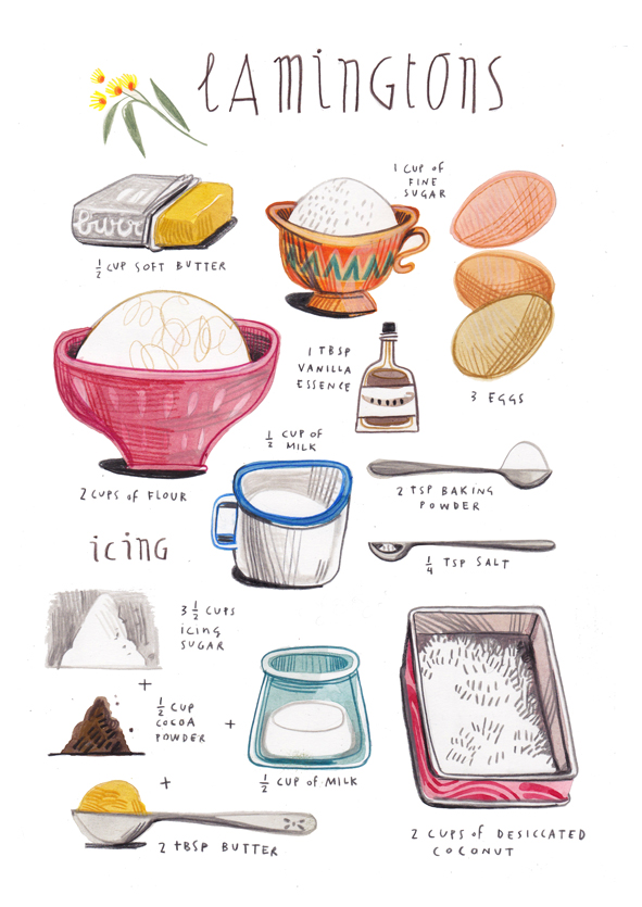 Artist Creates Exquisitely Illustrated Recipes from Around the World