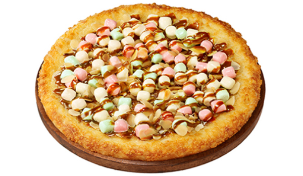 Pizza Hut Japan Teams Up With Candy Company To Create Caramel And