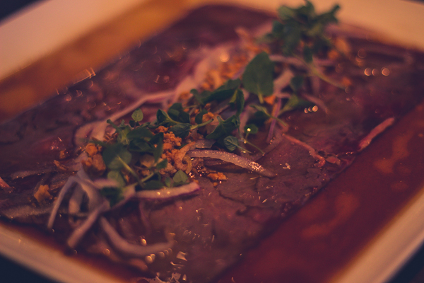 vietnamese beef carpaccio district one las vegas