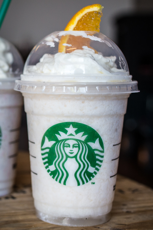 ... , Creamsicle and Cake Pop Frappes from the Starbucks Secret Menu