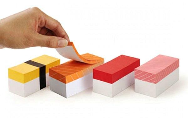 sushi-notepads