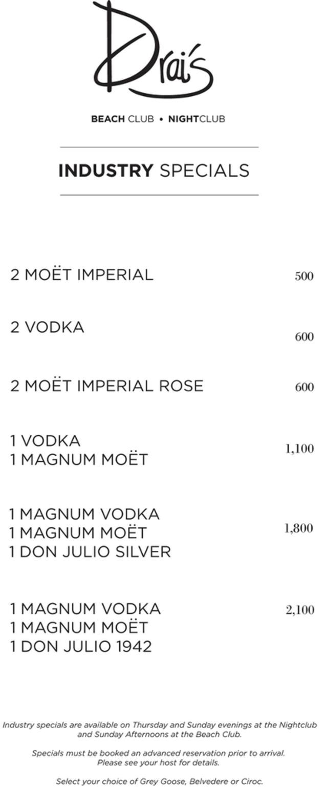 vegas-menu