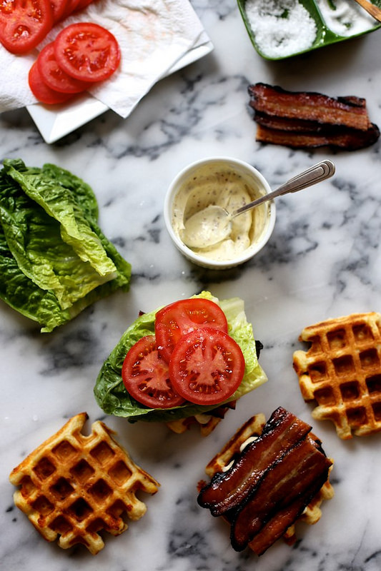 waffle blts