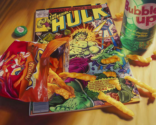 Comics-Snacks-Hulk