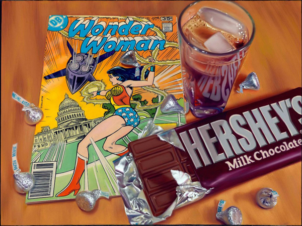 Comics-Snacks-WonderWoman-Pete