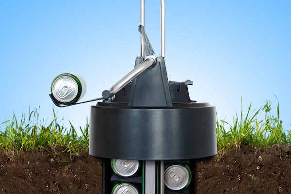 This Underground Beer Cooler Keeps Drinks Cold without Electricity