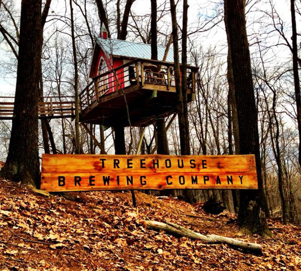 This Tiny Treehouse Is Actually A Microbrewery, And It Is