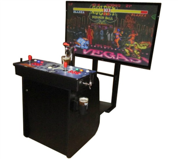 kegerator-video-games