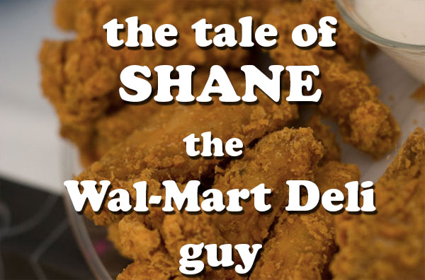 Image of: Tight Walmartdeliguyshane Foodbeast This Is The Hilariously Ridiculous Story Of Shane The Walmart Deli Guy