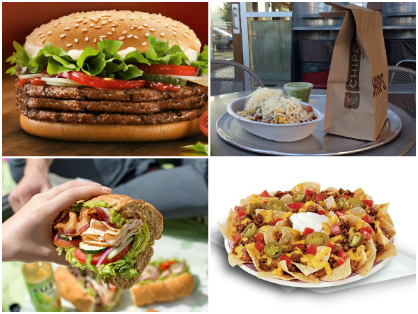 1000 Calorie Club Fast Food Items That Clock In At 1000 Calories