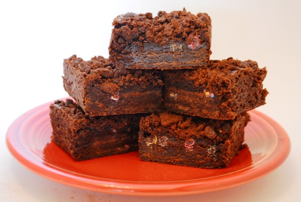Brownie-stuffed brownies