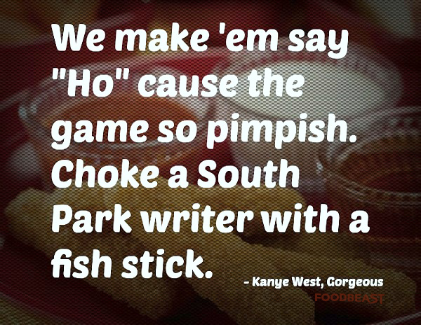 The 23 Most Ridiculous Food Lyrics from Kanye West
