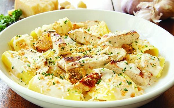 Olive Garden 3 Course Alfredo Dinner