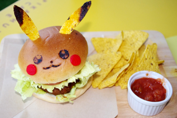 Pokemon-Restaurant-Burger