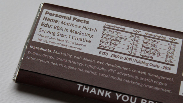 hirschy s chocolate bar resume puts all other resumes to shame