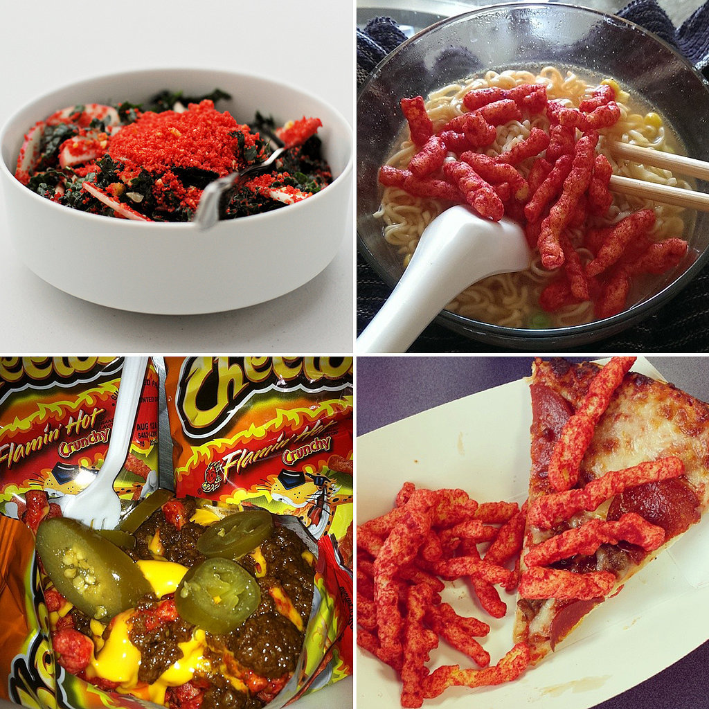 35 Creative Ways To Use Flamin Hot Cheetos On Other Food