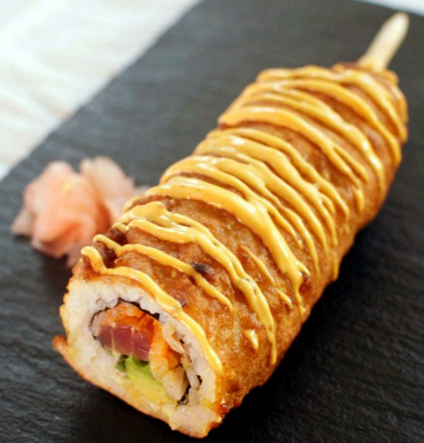 Spicy Tuna Corn Dog