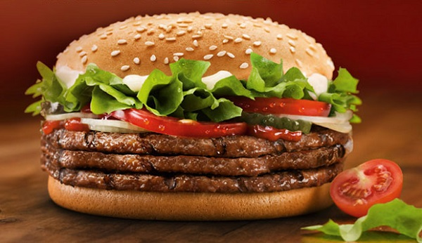 calories in a whopper with cheese