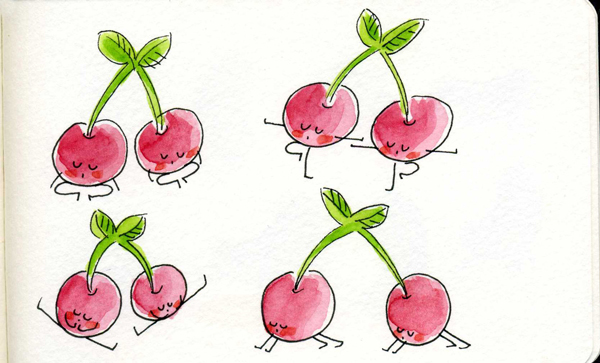 Cherries-Yoga
