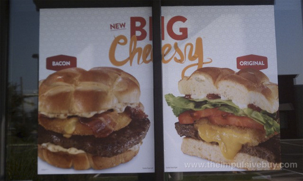 Jack in The Box Creates Ridiculous New Cheeseburgers Made With Deep Fried Cheese Patties