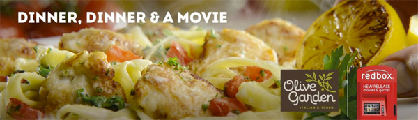 Olive Garden Resorts To Buy Two Dinners Get Free Movie Deal
