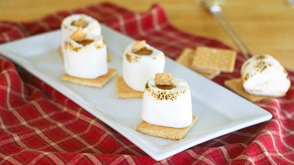 smores marshmallow shot