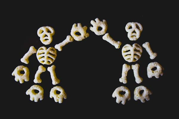 Cheetos' Bag of Bones Features DIY Skeletons in White Cheddar