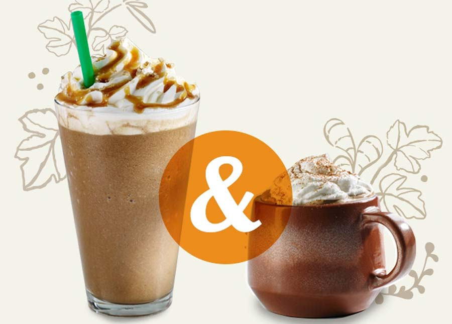 Starbucks Offers Buy One Get One Free on Fall Drinks