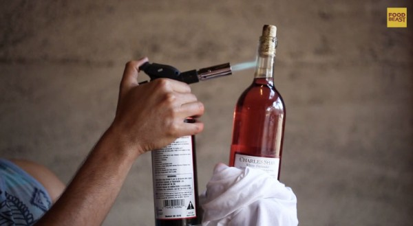 how-to-open-wine-bottle-with-blowtorch
