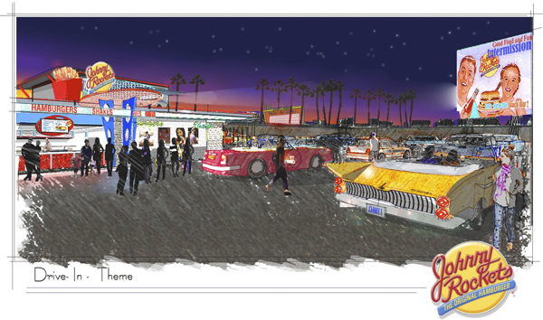 Best Family Truck >> Coolsville: Johnny Rockets Getting its Own Drive-In Movie Theatre