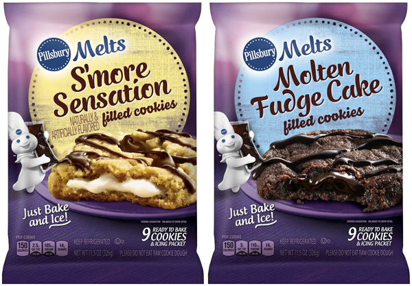 Pillsbury Rolls Out S Mores And Molten Lava Cake Stuffed