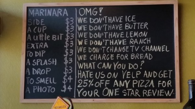 Restaurant Owner Just Gave the Most Epic 'F*ck You' to Yelp, Then Shared Some Sage Business Advice