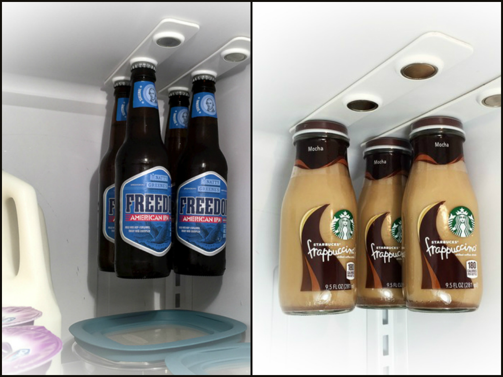 You Can Hang Your Beer Bottles From Your Fridge Now