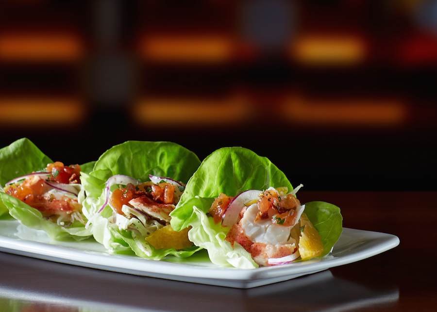 lobster lettuce wraps flemings