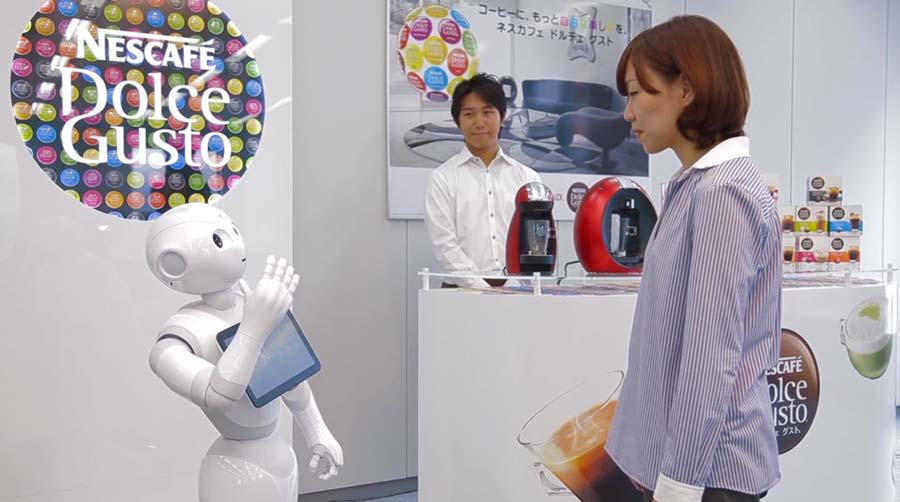 Nestle-Robot-Japan