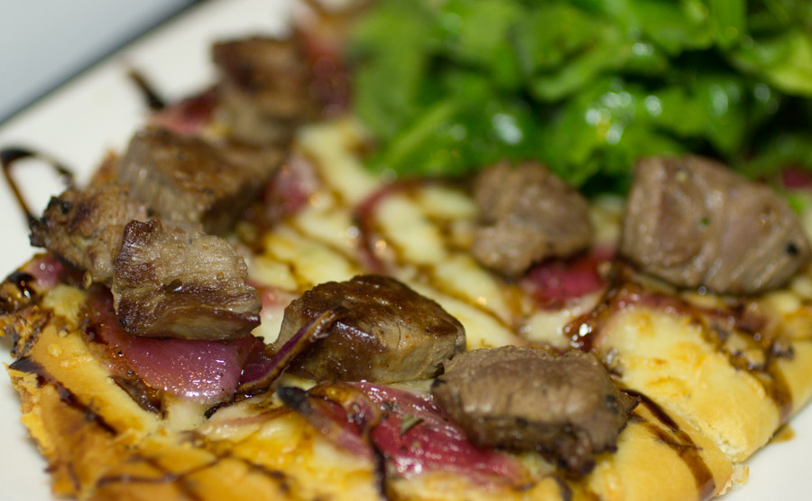 filet mignon flatbread flemings