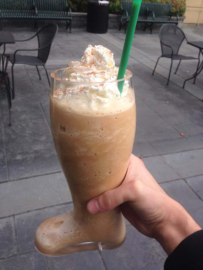 Starbucks-Boot