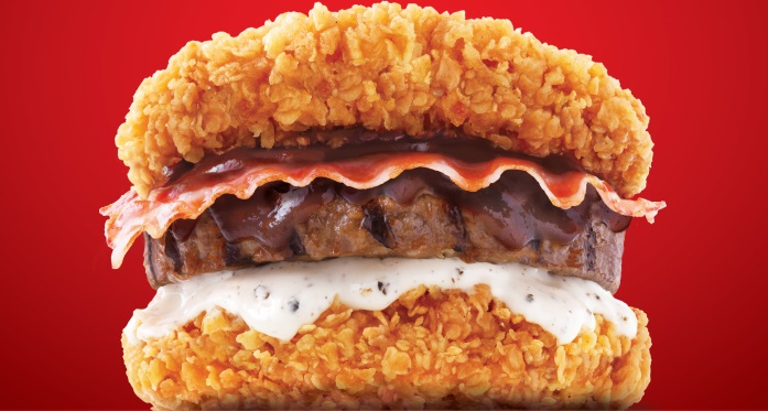 This Is How KFC Is Topping Their Double Down, and It Is Terrifying