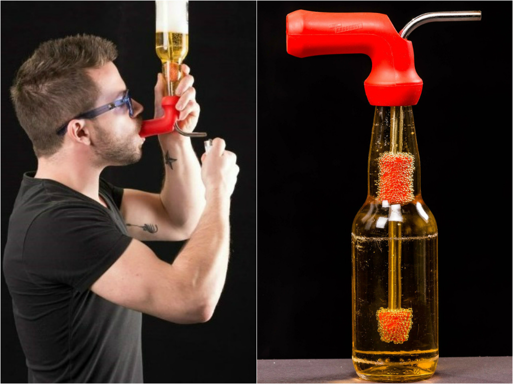 This Bong Lets You Smoke and Drink at the Same Damn Time