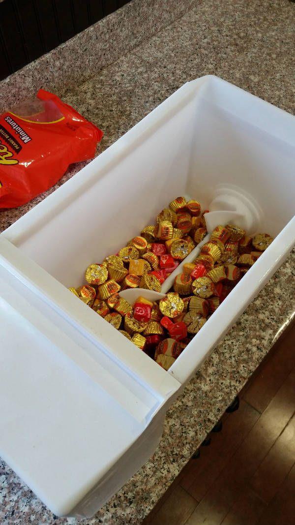 candy bin