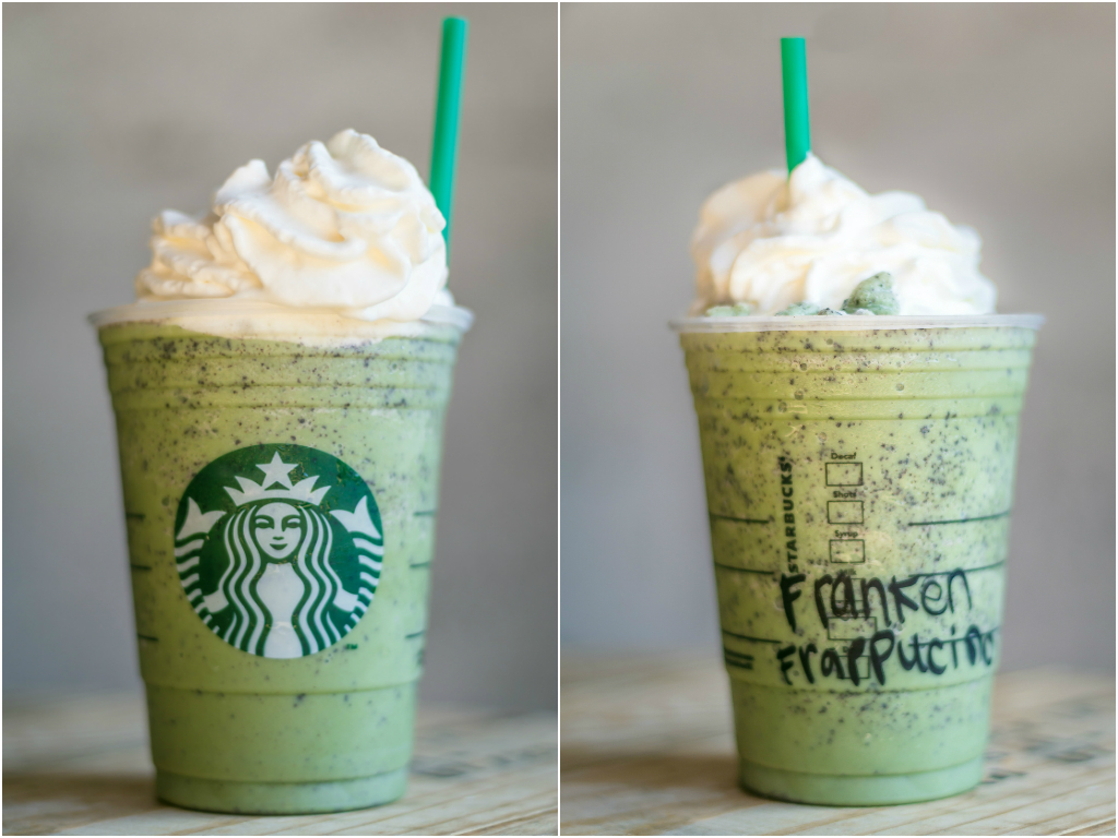 This Is The Franken Frappuccino, Starbucks' Halloween Drink