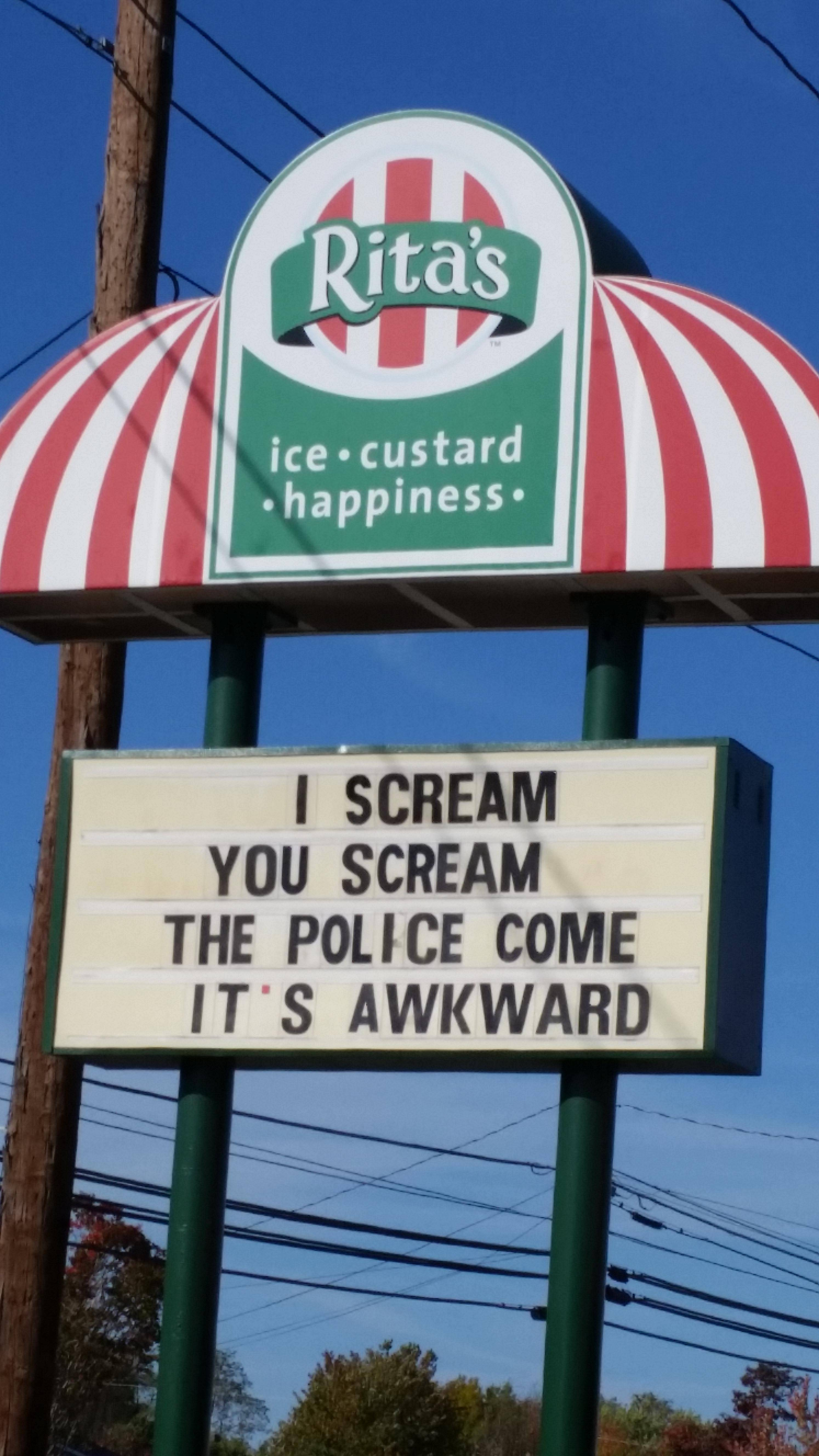 Most Awkward Way to Advertise Your Ice Cream Shop