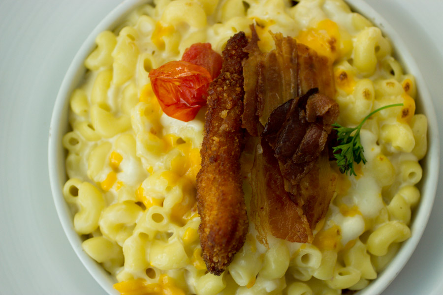 Bacon Fried Chicken Mac Cheese-7219
