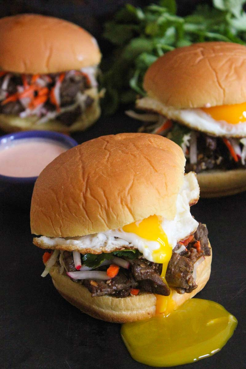 Bulgogi-Sandwich