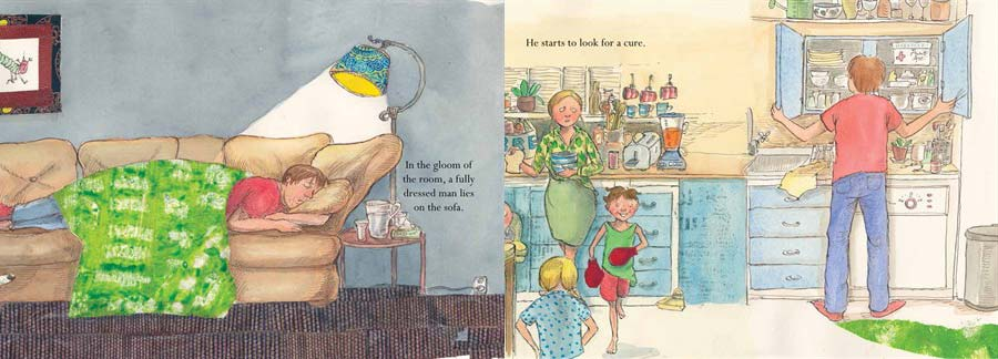 Eat Through Your Hangover with this Whimsically Illustrated Children's Parody Book