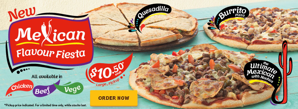 Pizza Hut New Zealand Now Putting Burritos Quesadillas And Nachos On Their Pizza